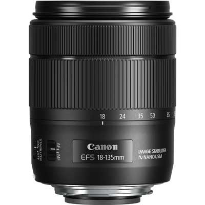 Canon EF-S 18-135mm f3.5-5.6 IS USM Lens - Winter Cashback £50 - Campkins - 1
