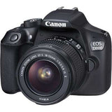Canon EOS 1300D Digital SLR Camera with 18-55mm IS II Lens + £20 Winter Cashback + 16GB SD Card - Campkins - 1