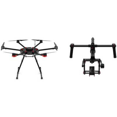 DJI Matrice 600 Hexocopter Drone with Ronin-MX Gimbal - Campkins - 1