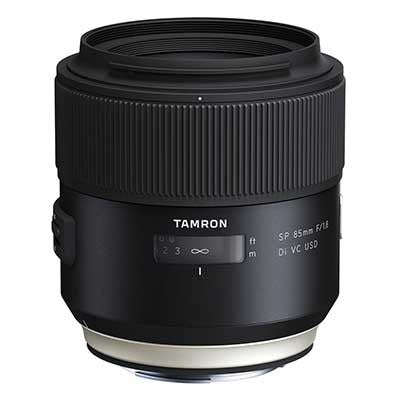 Tamron 85mm f1.8 SP Di VC USD Lens - Campkins