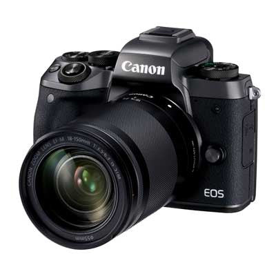 Canon EOS M5 Digital Camera with 18-150mm Lens - Preorder - Campkins - 1