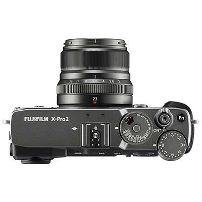 Fuji X-Pro2 Digital Camera Body with XF23mm F2 Lens - Graphite Silver - Preorder - Campkins - 2