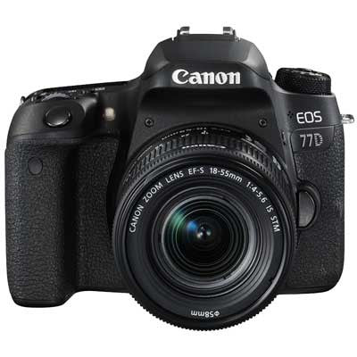 Canon EOS 77D Digital SLR Camera with 18-55mm IS STM Lens - Preorder