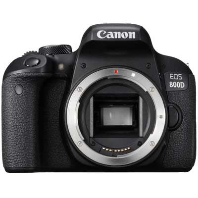 Canon EOS 800D Digital SLR Camera Body - In Stock Now