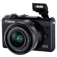 Canon EOS M100 Digital Camera + 15-45 Limited Edition Black