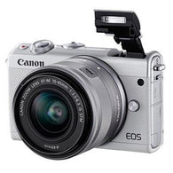Canon EOS M100 Digital Camera + 15-45 Limited Edition White