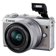 Canon EOS M100 Digital Camera + 15-45 Limited Edition Grey