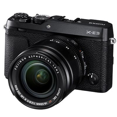 Fujifilm X-E3 Digital Camera with 18-55mm Lens - Black