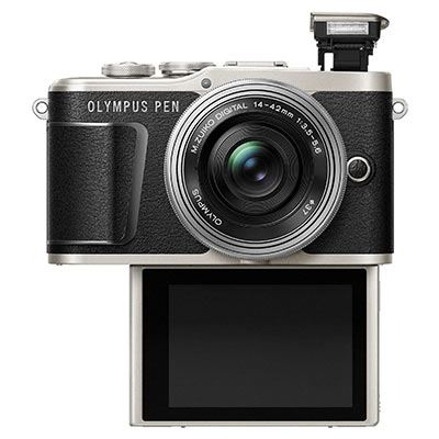 Olympus Pen E-PL9 Digital Camera with 14-42mm Lens - Black