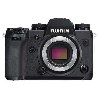 Fujifilm X-H1 Digital Camera Body with Vertical Battery Grip