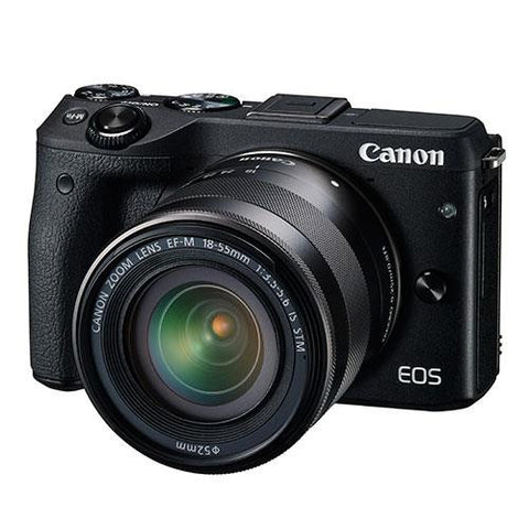 Canon EOS M3 Compact System Camera + Canon 18-55mm IS STM Lens - Campkins - 1