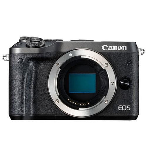 Canon EOS M6 Mirrorless Camera Body - In Stock Now