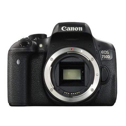 Canon EOS 750D Digital SLR Body - Winter Cashback £70 - Campkins - 1
