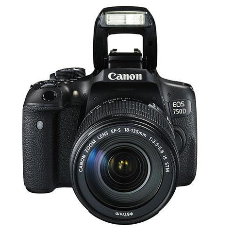 Canon EOS 750D Digital SLR + Canon 18-135mm IS STM Lens - Campkins - 2