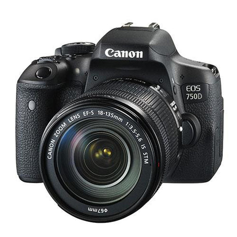 Canon EOS 750D Digital SLR + Canon 18-135mm IS STM Lens - Campkins - 1
