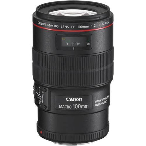 Canon EF 100mm f2.8L Macro IS USM Lens - Campkins - 1