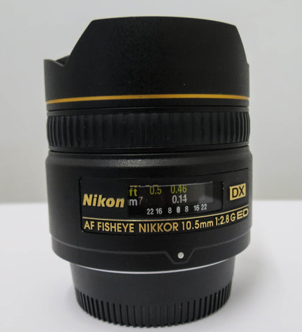 Nikon 10.5mm F2.8 GED DX