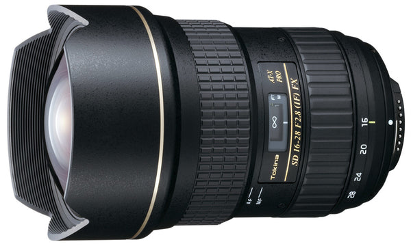 Tokina AT-X 16-28mm F2.8 PRO FX Lens - Campkins