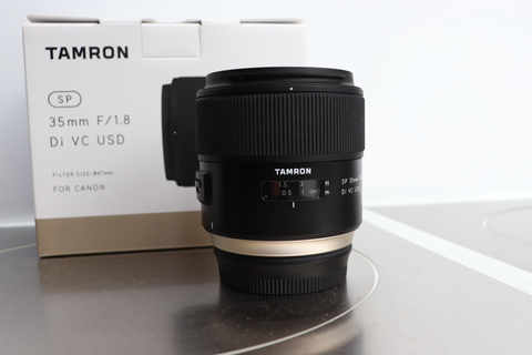 Tamron 35mm 1.8 DI VC USD CANON FIT