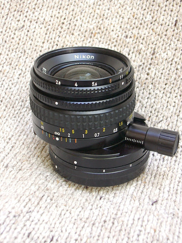 Nikkor 35mm 2.8 Tilt shift Second hand.