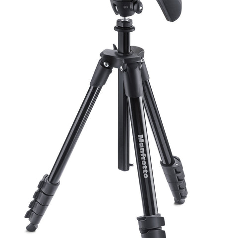 Manfrotto - Compact Action Black Tripod - Campkins