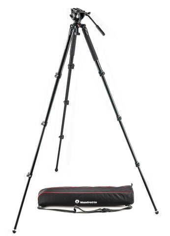 Manfrotto 500 Aluminum Single Leg Video system - Campkins