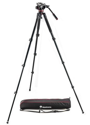 Manfrotto 504 Aluminum Single Leg Video system - Campkins