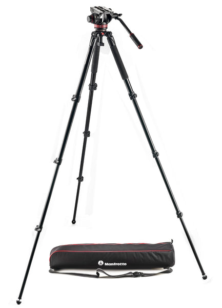 Manfrotto 502 Aluminum Single Leg Video system - Campkins