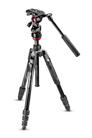 Befree live Aluminium tripod twist, video head
