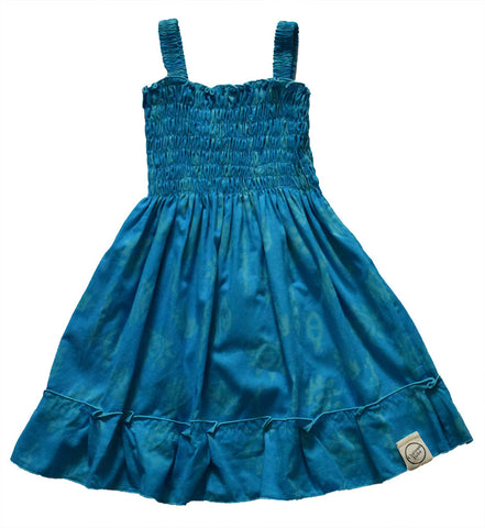 Beach Dress Dark Blue Sun