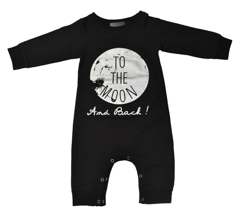 Onesie L/S To The Moon And Back (Shadow)