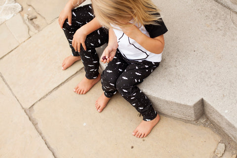 Leggings Gone Batty Organic Cotton