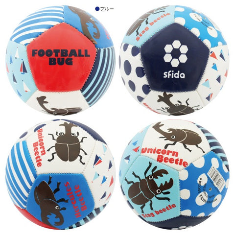 Football Bug Blue