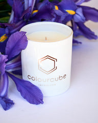 Custom branded scented candles
