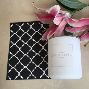Quatrefoil wall print - Wall Prints - Opulenza Fragrances