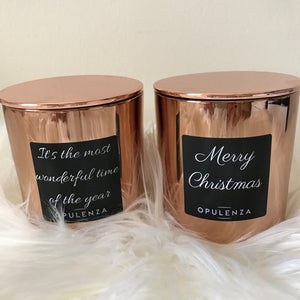 Christmas Candles - Candles - Opulenza Fragrances