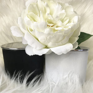Ribbed Scented Soy Wax Candle - Candles - Opulenza Fragrances
