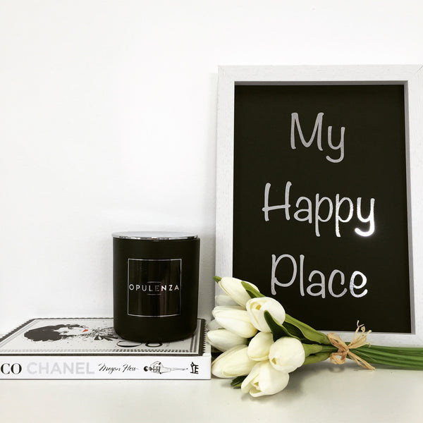 My Happy Place - Wall Prints - Opulenza Fragrances