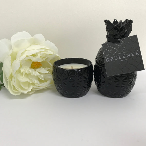 Mini Pineapple Soy Wax Scented Candle