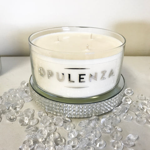 TRIPLE WICK SOY WAX CANDLE BOWLS - Candles - Opulenza Fragrances