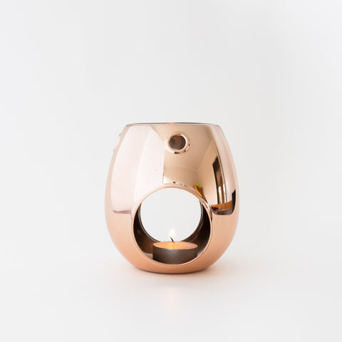 Rose Gold Melt Burner
