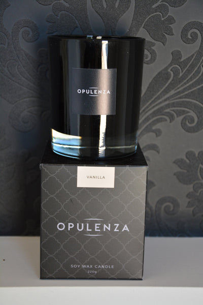 Vanilla scented candle - Opulenza Fragrances  - 2