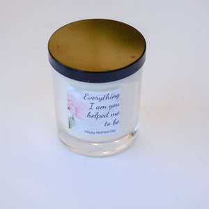 Mothers Day Soy Wax Candle Gift