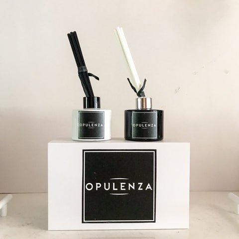 MONOCHROME 100ML  DIFFUSER SET - Candles - Opulenza Fragrances