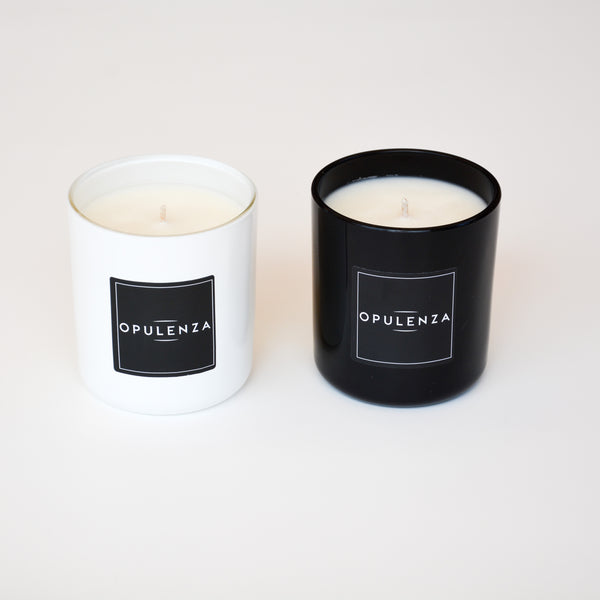Monochrome Small Soy Wax Scented Candle
