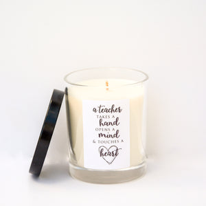Boxed Teacher Candle