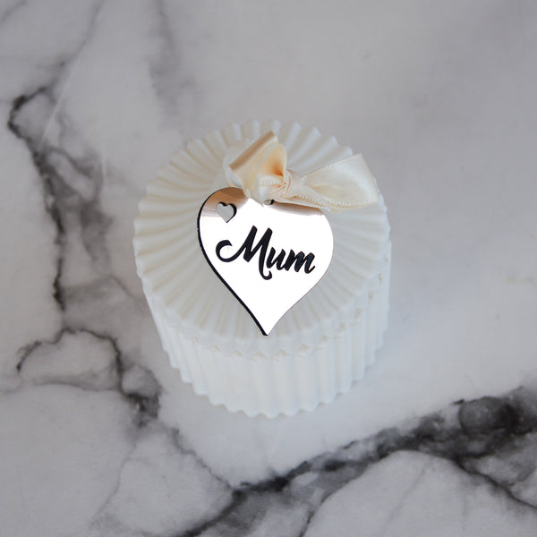 Mother's Day Gift Tag Candle Gift