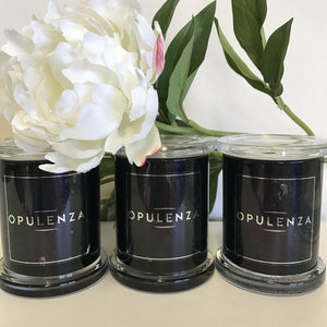 Medium Black Monaco Jar - Candles - Opulenza Fragrances