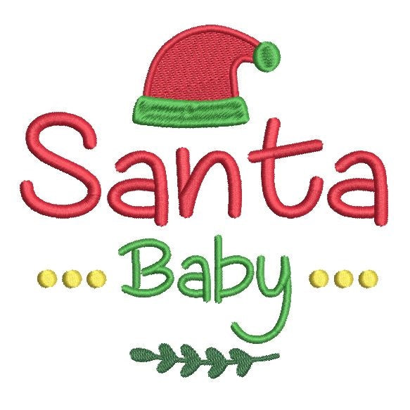 Christmas machine embroidery design by sweetstitchdesign.com
