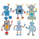 Robot applique machine embroidery designs by sweetstitchdesign.com